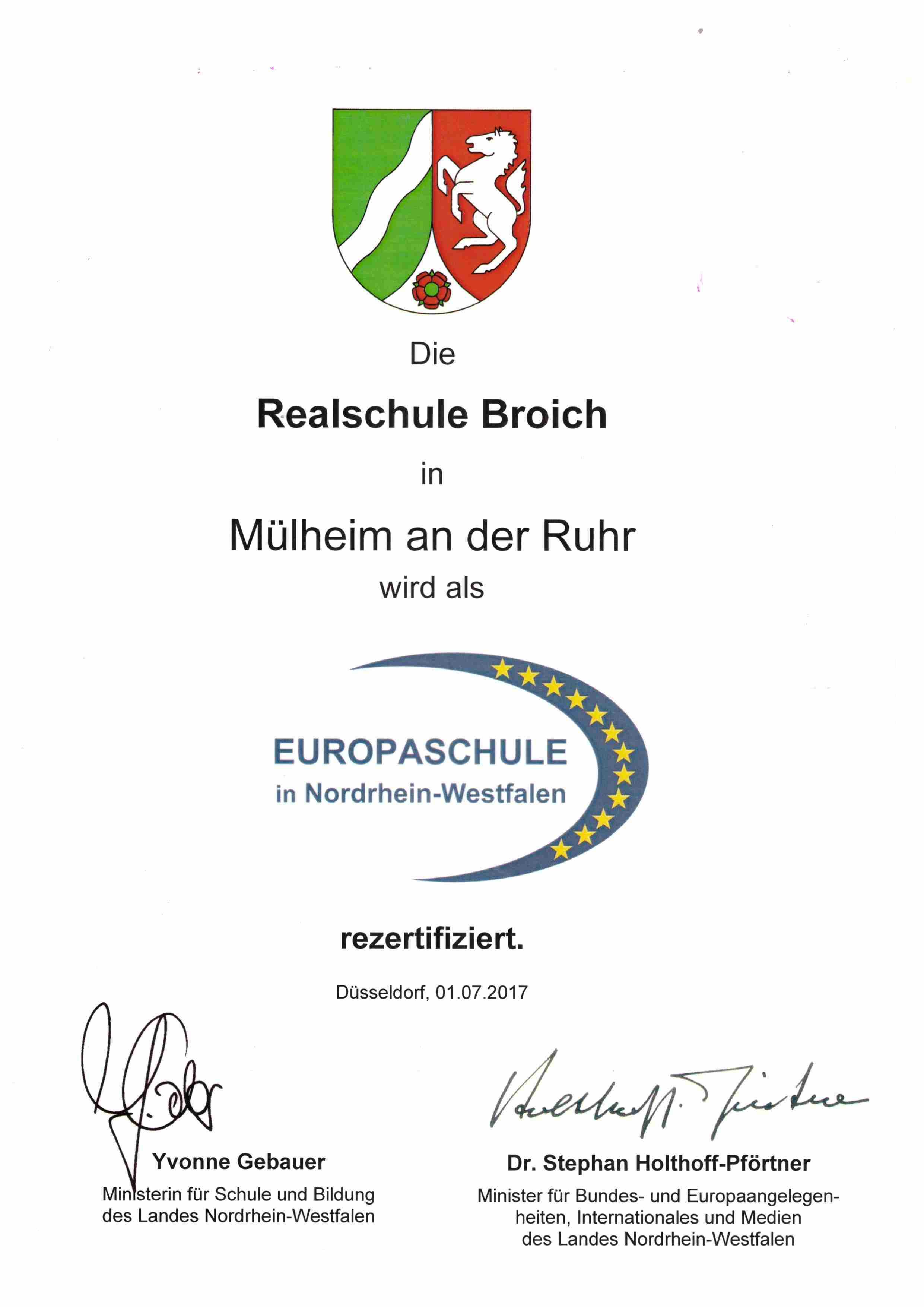 17 Urkunde europa zertifizierung 2