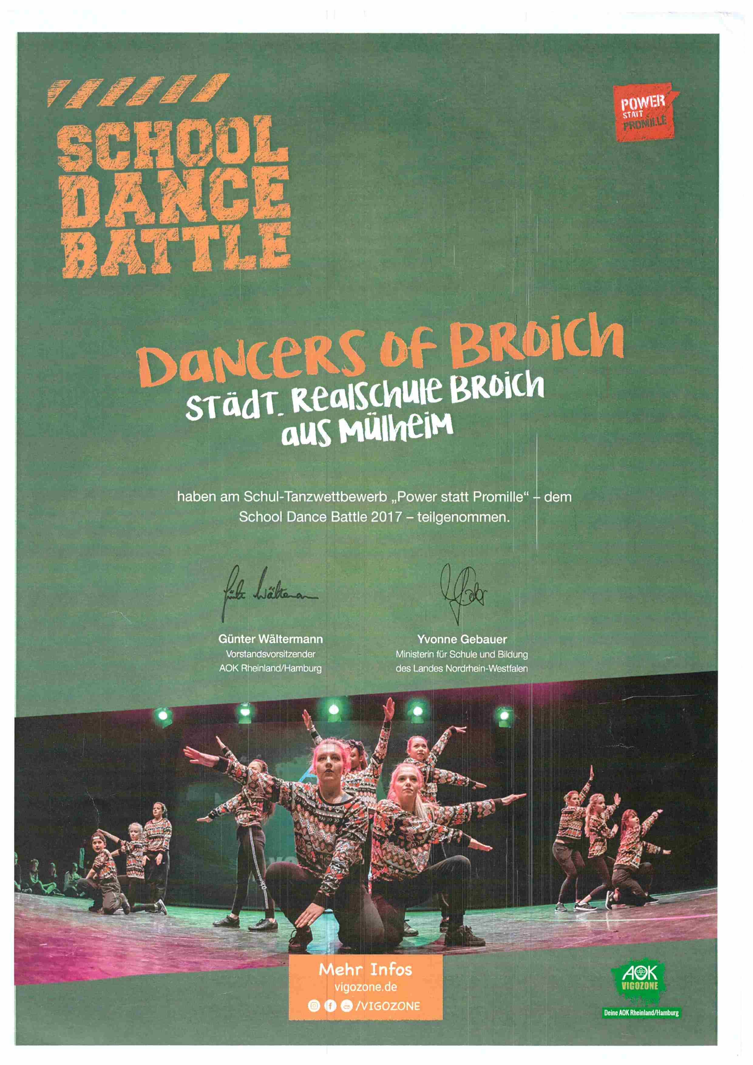 18 School dance