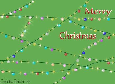 Weihnachtskarte 2 Charlotta Beinert 8e