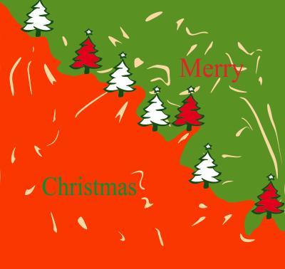 Weihnachtskarte Jakob Bohnen 8d