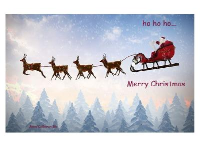 Weihnachtskarte Jana Collerus 8b