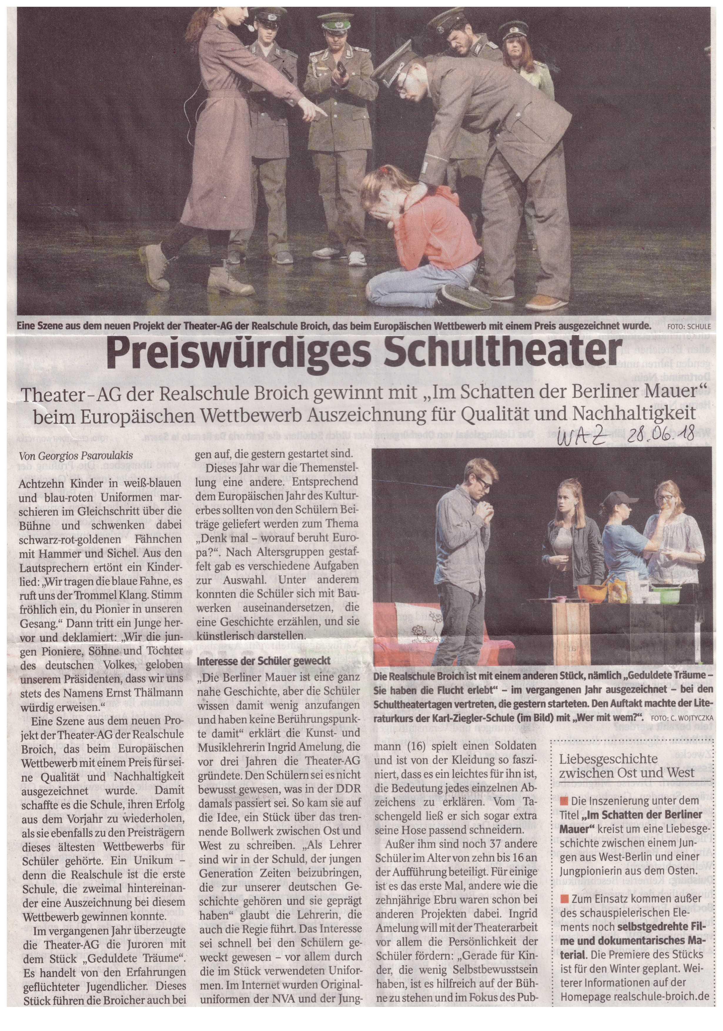 Theater Preis2018