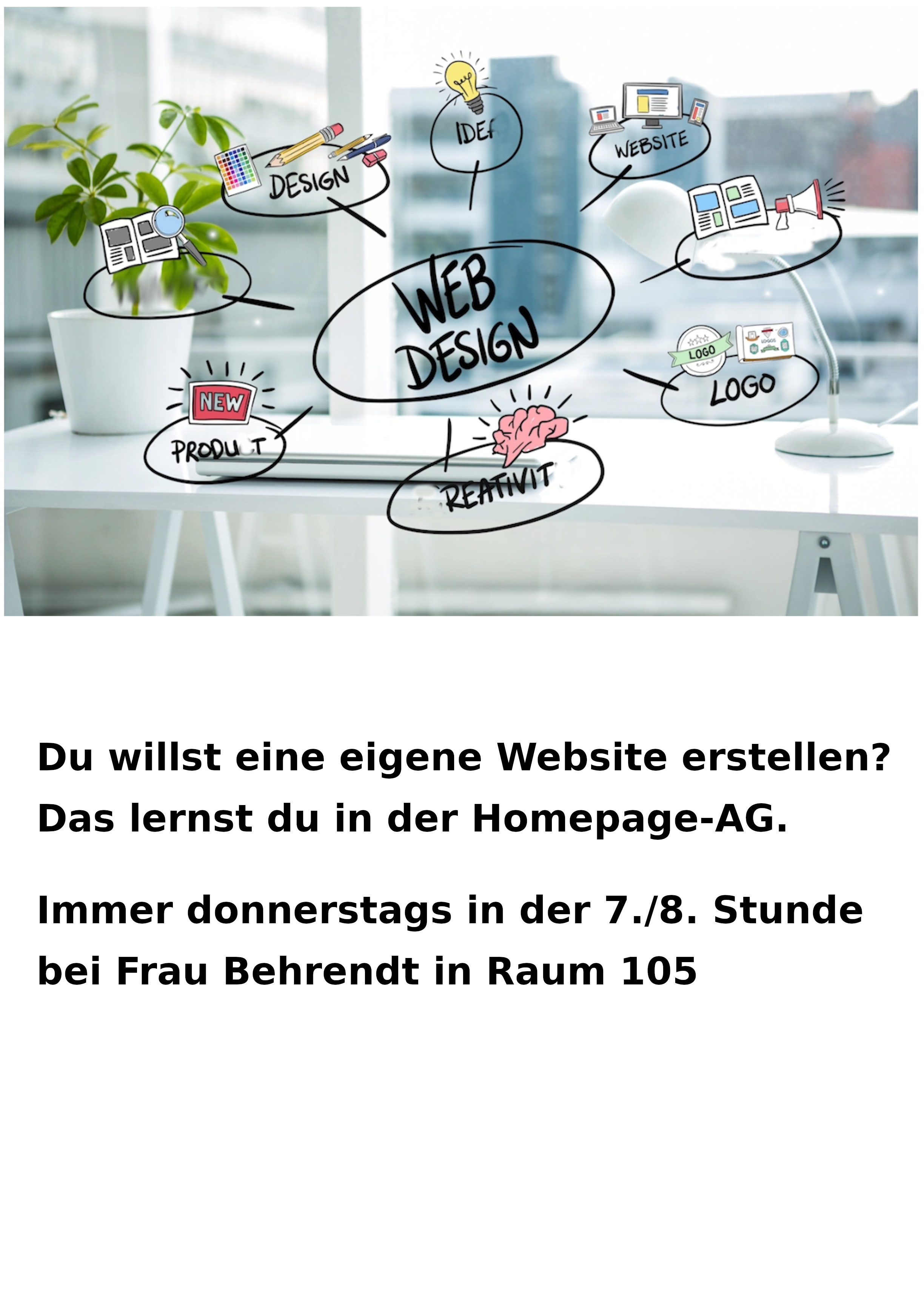 Plakat Homepage AG