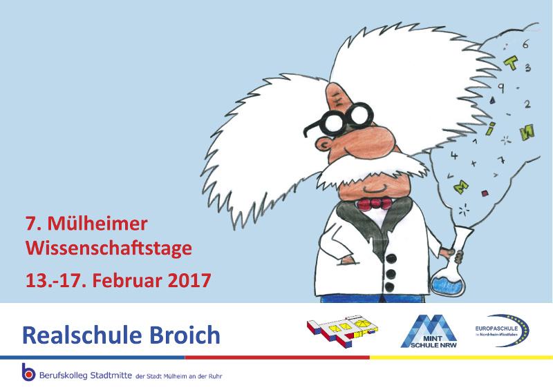 Flyer für Wissenschaftstage