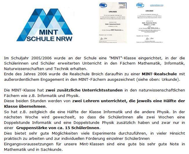 MINTRealschule