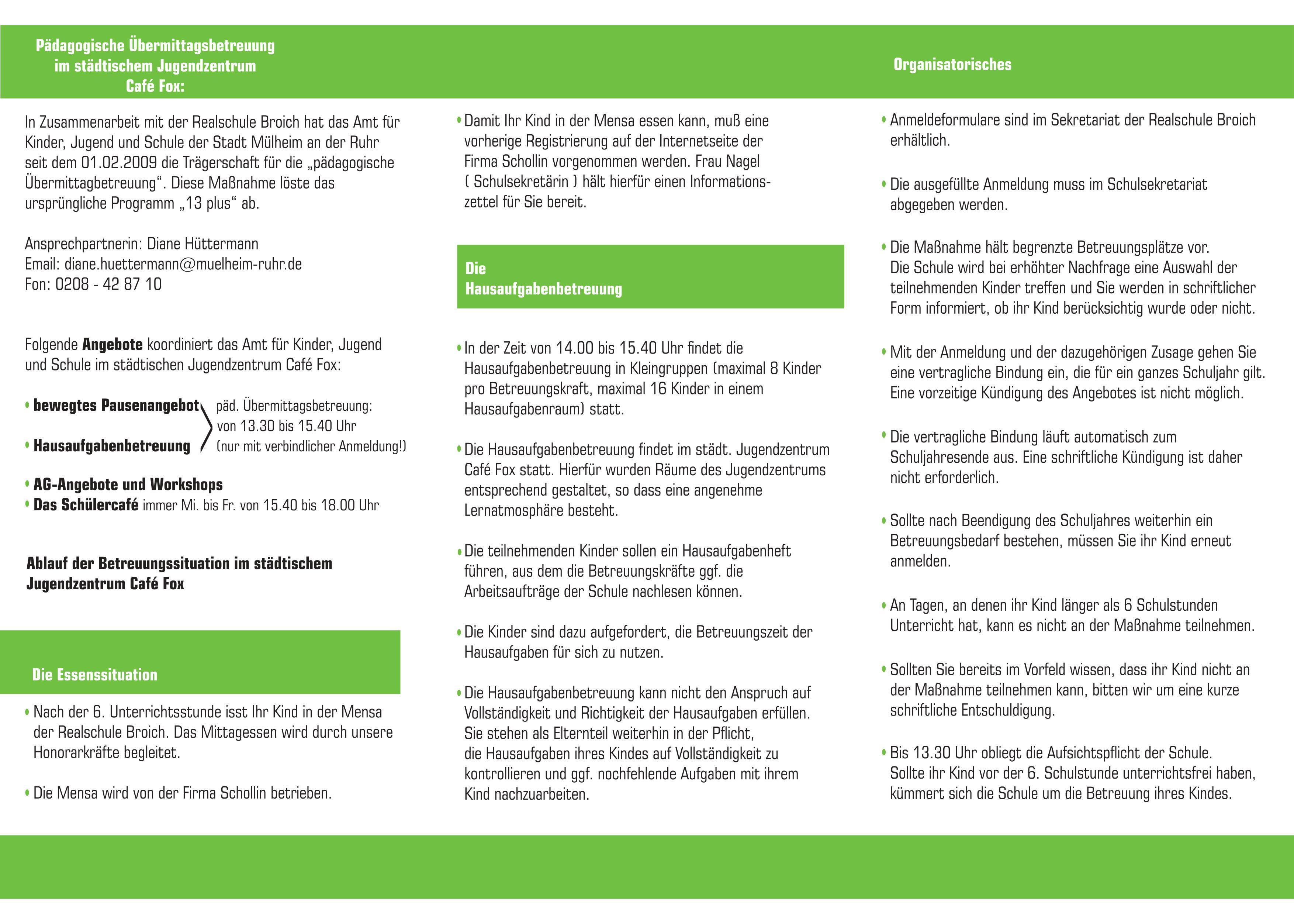 Flyer Infos bermittagsbetreuung 2 2